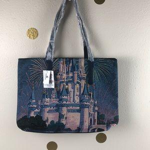 Disney World Castle Large Tote Bag Cinderella
